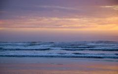 High-resolution desktop wallpaper Late Spring Sunset by jaasum