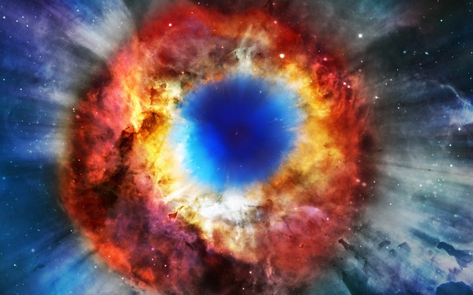 High-resolution desktop wallpaper Helix Nebula by tectonix