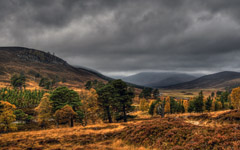 High-resolution desktop wallpaper Cairngorms of Scotland by davidjearly