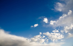 High-resolution desktop wallpaper In the Clouds by figone