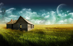 High-resolution desktop wallpaper The Farmhouse by marc berger