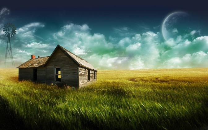 High-resolution desktop wallpaper The Farmhouse by marc berger