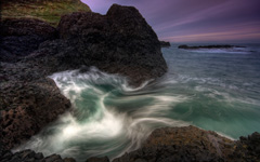 High-resolution desktop wallpaper Rushing Wave by RGH Photography
