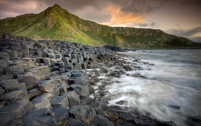 High-resolution desktop wallpaper Giants Causeway by RGH Photography