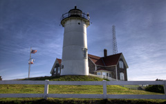 High-resolution desktop wallpaper Nobska Lighthouse by rczeien