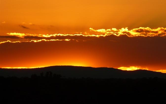 Grampian Sunset