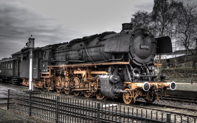High-resolution desktop wallpaper 441085 at the VSM Historical Train Depot by Cornmeister