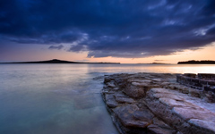 High-resolution desktop wallpaper Rangitoto by Chris Gin