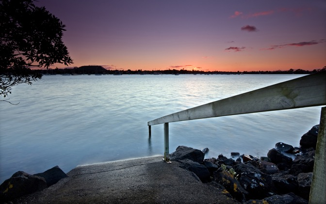 High-resolution desktop wallpaper Boat Ramp by Chris Gin
