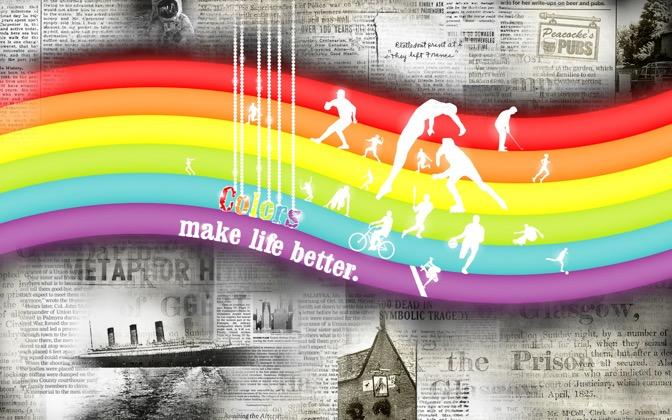 High-resolution desktop wallpaper Colors Make Life Better by ALEN