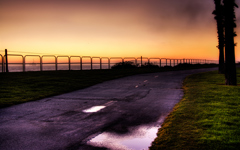High-resolution desktop wallpaper Beach Path by nicklyon