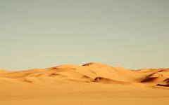 High-resolution desktop wallpaper Desert by panchro