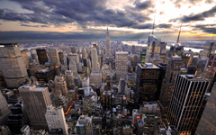 High-resolution desktop wallpaper Rockefeller's View by Dominic Kamp