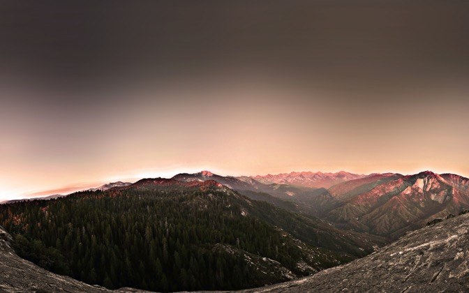 High-resolution desktop wallpaper The Western Divide by John Reed
