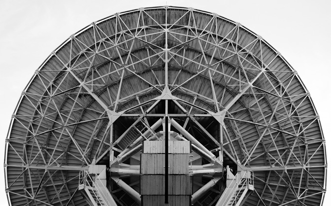 High-resolution desktop wallpaper Knockin Radio Telescope by Thrawed