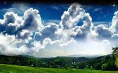 High-resolution desktop wallpaper Hilltop View by Phil2001