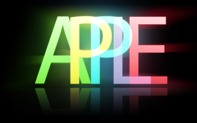 High-resolution desktop wallpaper Apple Glowstick by Brnboy313