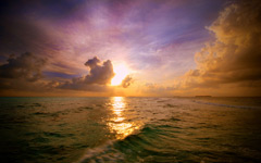 High-resolution desktop wallpaper Creamy Sky by Dominic Kamp