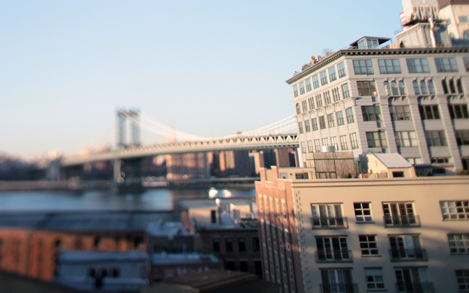High-resolution desktop wallpaper Mini Manhattan Bridge by Goodworks Media