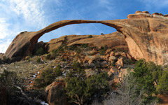 High-resolution desktop wallpaper Landscape Arch by Bendykst