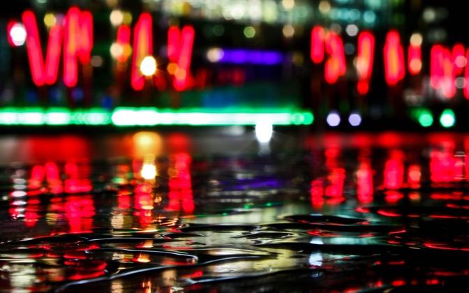 High-resolution desktop wallpaper Dublin Docklands Reflections by Monie