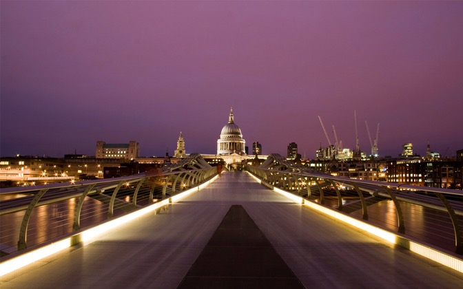 High-resolution desktop wallpaper Millennium St. Paul's by safeer qamar