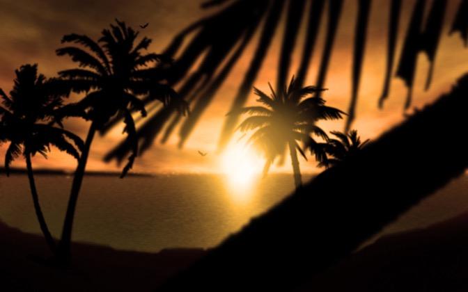 High-resolution desktop wallpaper Fijian Sunset by jason.5665