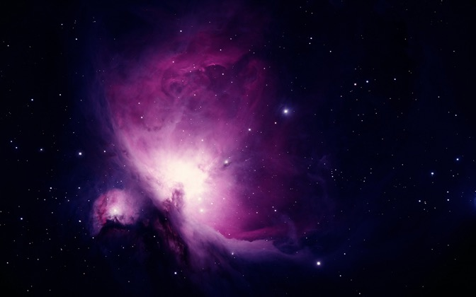 High-resolution desktop wallpaper The Orion Nebula by chriscologne