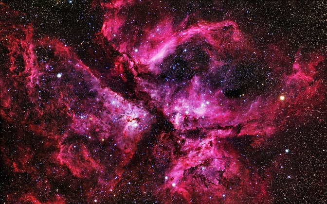 High-resolution desktop wallpaper The Great Carina Nebula by P-J