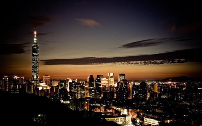 High-resolution desktop wallpaper Taipei 101 by BraveRoy