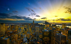 High-resolution desktop wallpaper Colors of New York by Dominic Kamp