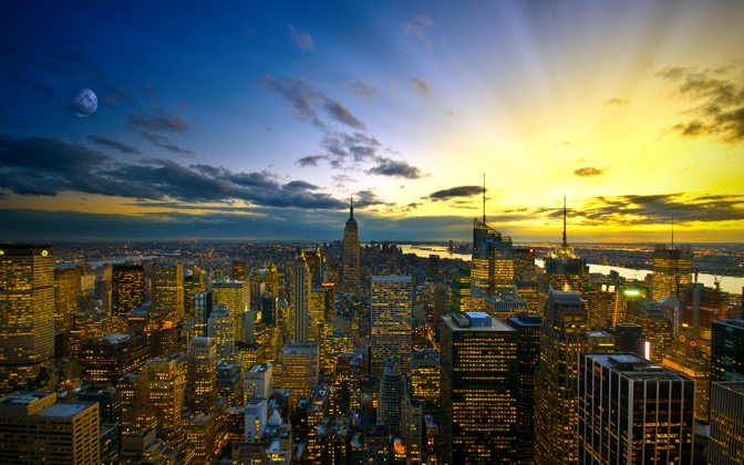 High-resolution desktop wallpaper Colors of New York