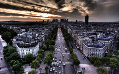 High-resolution desktop wallpaper Colors of Paris by Hardy