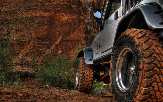 High-resolution desktop wallpaper Soft Tread Full of Moab Mud by markrez