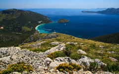 High-resolution desktop wallpaper Cala Formentor by wladimir-blumenkohl