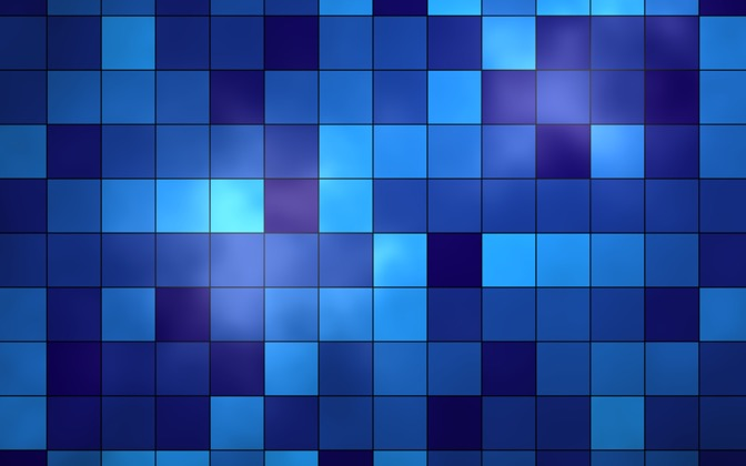 High-resolution desktop wallpaper Blue Tiles by salvis