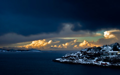 High-resolution desktop wallpaper Norwegian Coast by Egilanso