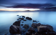 High-resolution desktop wallpaper Blue Sunrise by BoselySam
