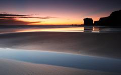 High-resolution desktop wallpaper Pink Sunset by BoselySam