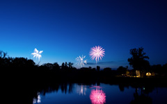 High-resolution desktop wallpaper Fireworks! by Nellisoft