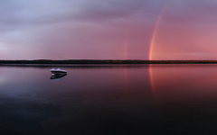 High-resolution desktop wallpaper Sugar Lake Rainbow by ferrari24