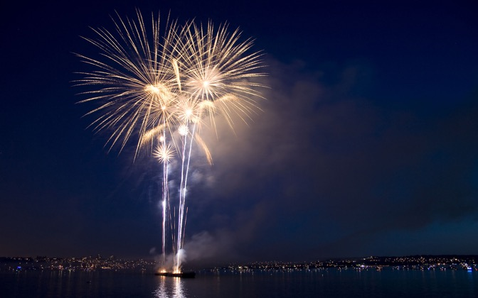 High-resolution desktop wallpaper HSBC Celebration of Light by Grant Erb