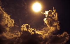 High-resolution desktop wallpaper Shadows of the Clouds by iabidin