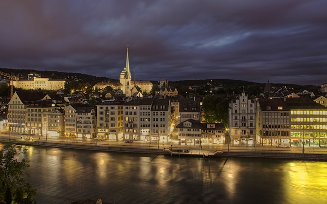 High-resolution desktop wallpaper Zurich by D