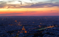 High-resolution desktop wallpaper Paris by Night by orciel