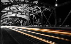 High-resolution desktop wallpaper Sacramento Tower Bridge Passing by lunasicc