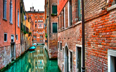 High-resolution desktop wallpaper Venetian Roads by xander562