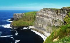 High-resolution desktop wallpaper Cliffs of Moher by Bonnie D.