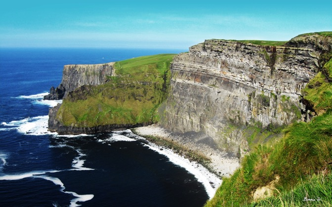 High-resolution desktop wallpaper Cliffs of Moher by Bonnie D.