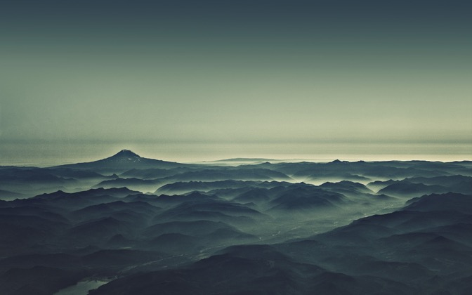 High-resolution desktop wallpaper Morning Mist by dan taylr